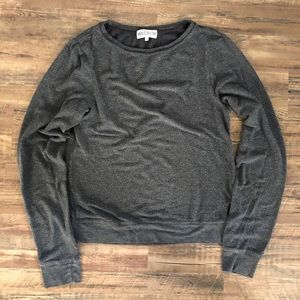 Gray Wildfox Baggy Beach Jumper Pullover Small